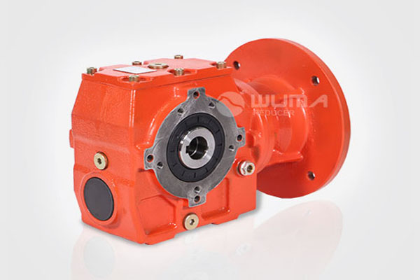 WS helical worm gear reducer