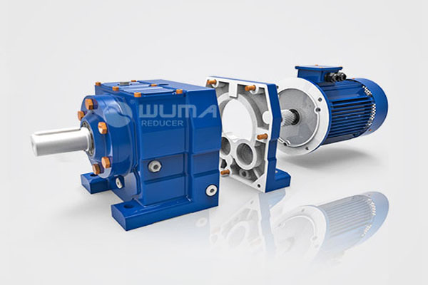 Modular Coaxial gearbox and inline gearmotor
