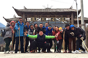 "Take part in TOPME challenge of 20KM hiking ""Hui-hang ancient path"
